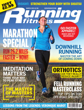 Running Fitness March 2013