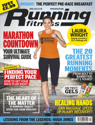 Running Fitness April 2013