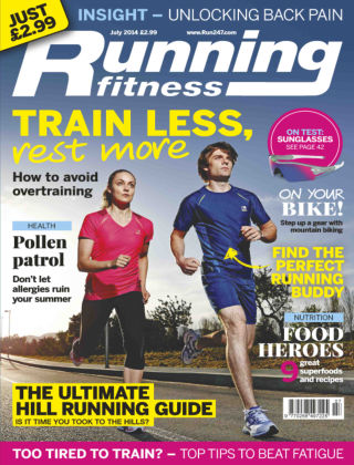 Running Fitness July 2014