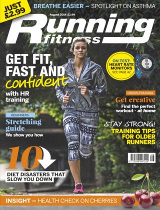 Running Fitness August 2014
