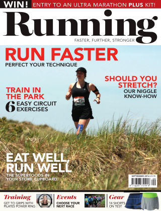 Running Fitness September 2016