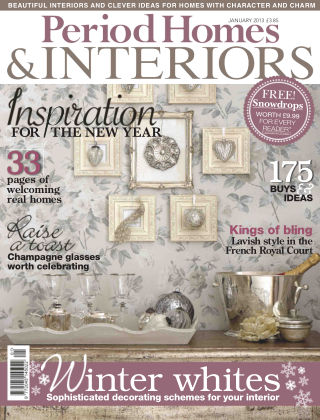 Period Homes & Interiors January 2013