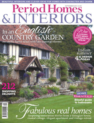 Period Homes & Interiors September 2013