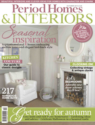 Period Homes & Interiors October 2013