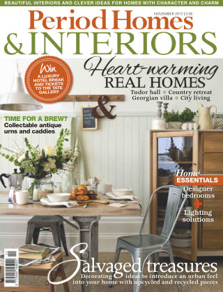 Period Homes & Interiors November 2013