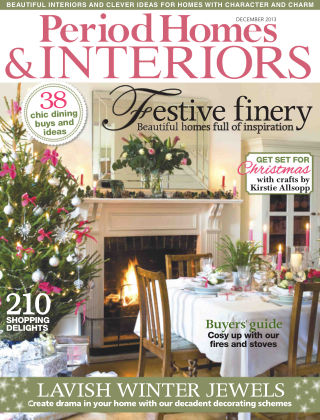 Period Homes & Interiors December 2013
