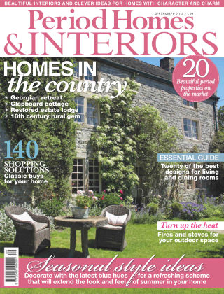 Period Homes & Interiors September 2014