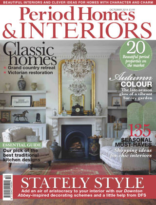 Period Homes & Interiors October 2014