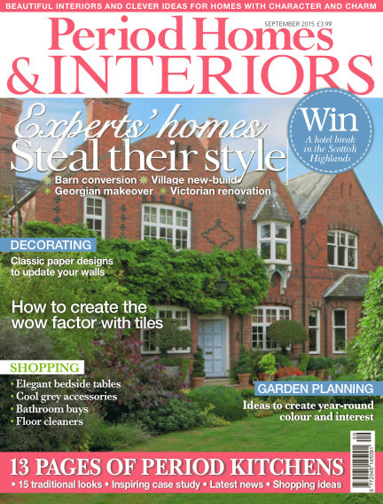 Period Homes & Interiors July 28, 2015 00:00