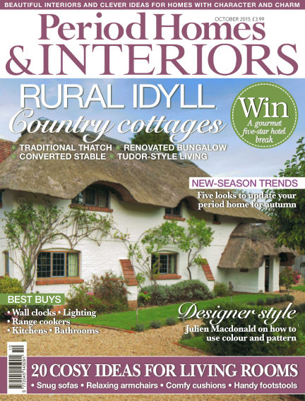 Period Homes & Interiors August 25, 2015 00:00