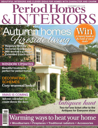Period Homes & Interiors Autumn homes
