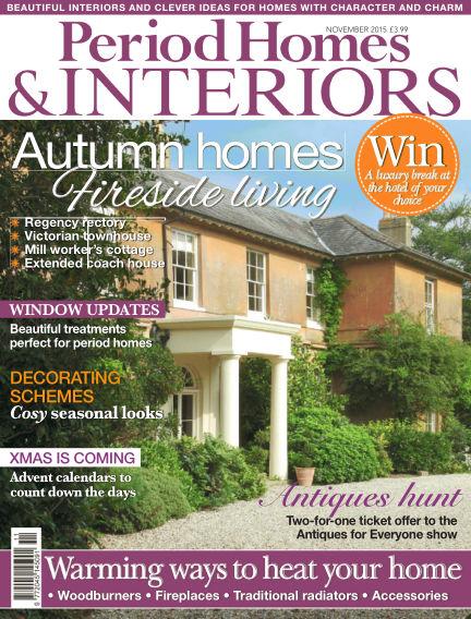 Period Homes & Interiors September 22, 2015 00:00
