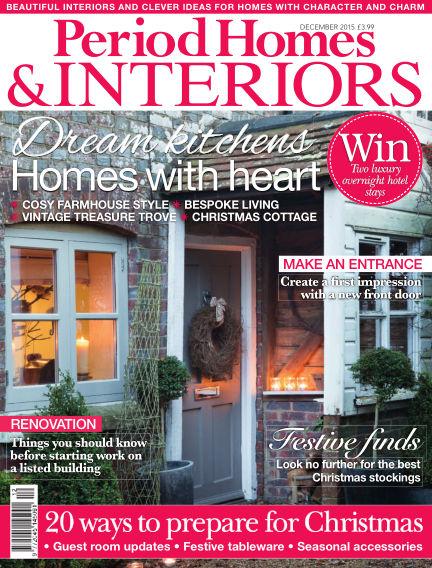 Period Homes & Interiors October 20, 2015 00:00