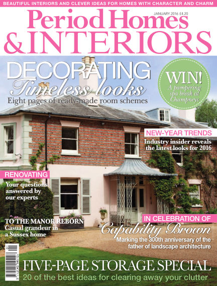 Period Homes & Interiors December 15, 2015 00:00