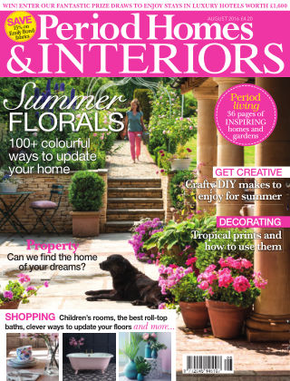 Period Homes & Interiors August 2016