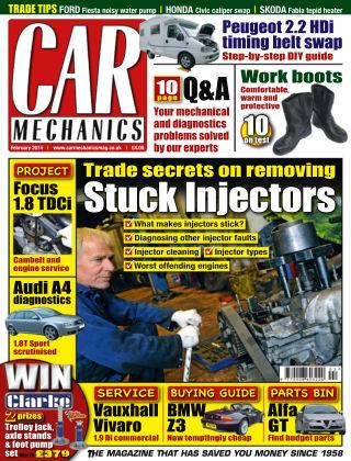 Car Mechanics February 2014