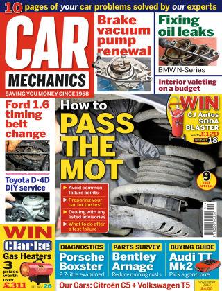 Car Mechanics Nov 2017