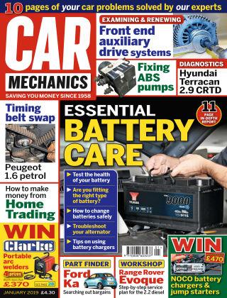 Car Mechanics Jan 2019