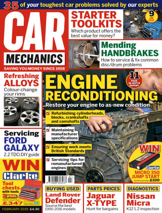 Car Mechanics Feb 2019