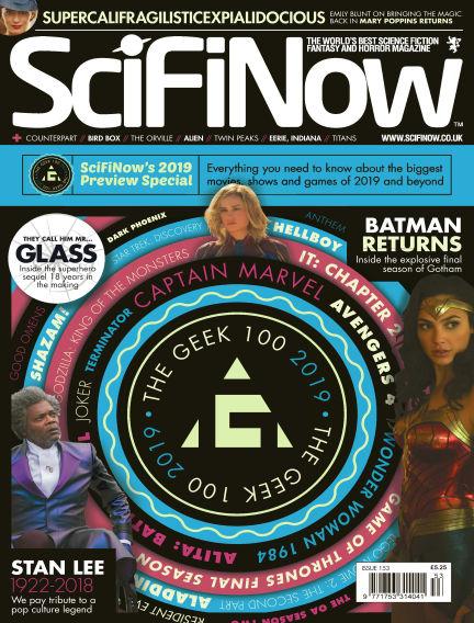 SciFiNow December 13, 2018 00:00