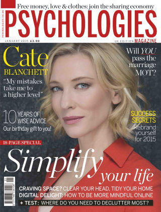Psychologies Magazine January 2015