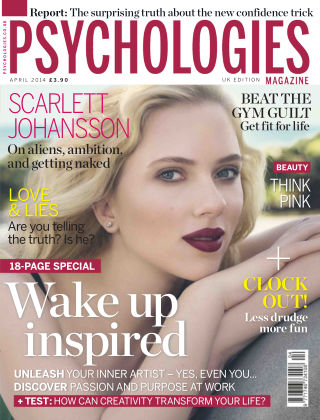 Psychologies Magazine April 2014