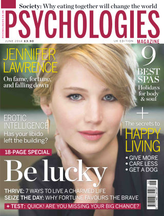 Psychologies Magazine June 2014