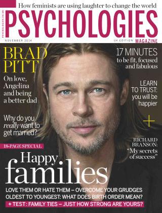 Psychologies Magazine November 2014