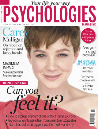 Psychologies Magazine June 2015