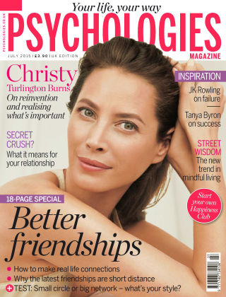 Psychologies Magazine July 2015