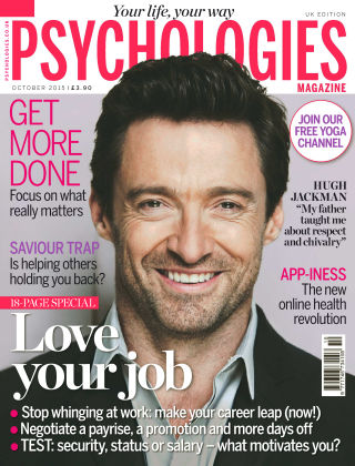 Psychologies Magazine Love your job