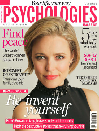 Psychologies Magazine Re-invent yourself