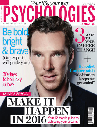 Psychologies Magazine Make It Happen