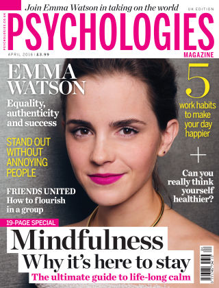 Psychologies Magazine April 2016