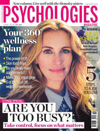 Psychologies Magazine June 2016