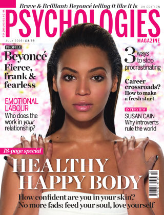 Psychologies Magazine July 2016