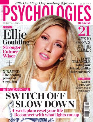 Psychologies Magazine August 2016