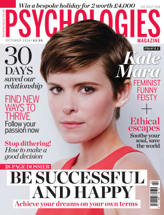 Psychologies Magazine October 2016