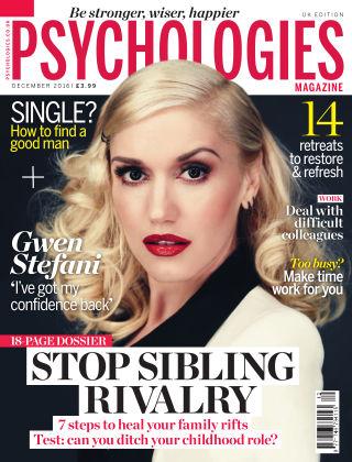 Psychologies Magazine December 2016