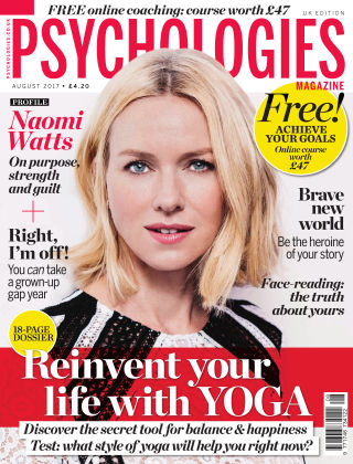 Psychologies Magazine August 2017
