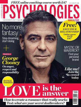Psychologies Magazine December 2017