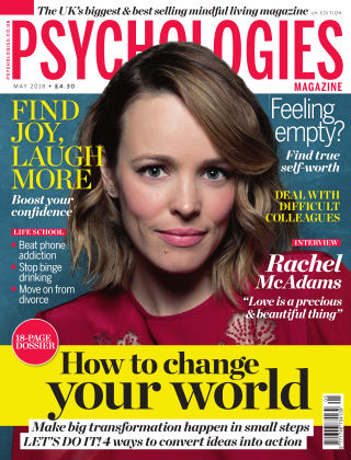 Psychologies Magazine May 2018