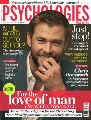 Psychologies Magazine November 18