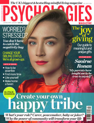 Psychologies Magazine January 2019