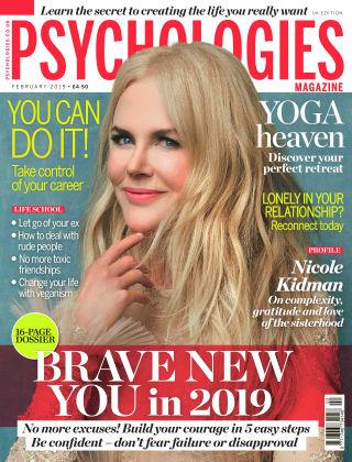 Psychologies Magazine February 2019