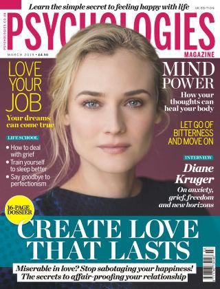 Psychologies Magazine March 2019