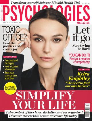 Psychologies Magazine Spring 2019