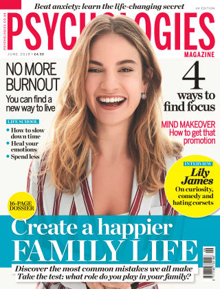 Psychologies Magazine June 2019