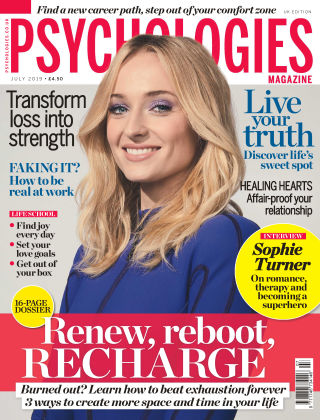 Psychologies Magazine July 2019