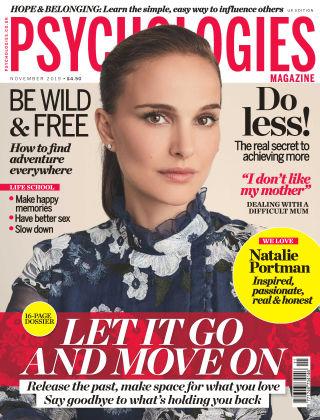 Psychologies Magazine November 2019